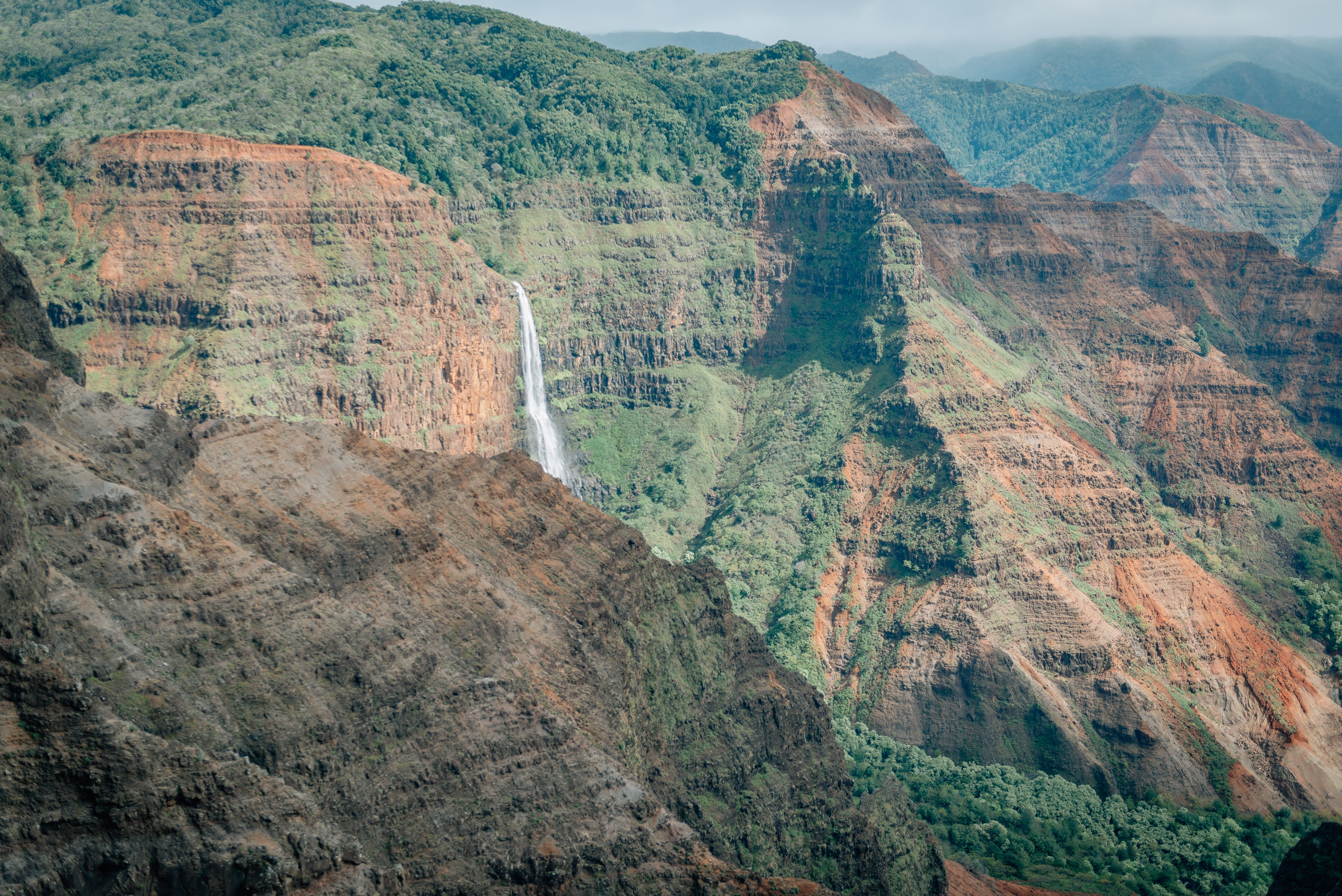 Overlooking Waimea Canyon 8