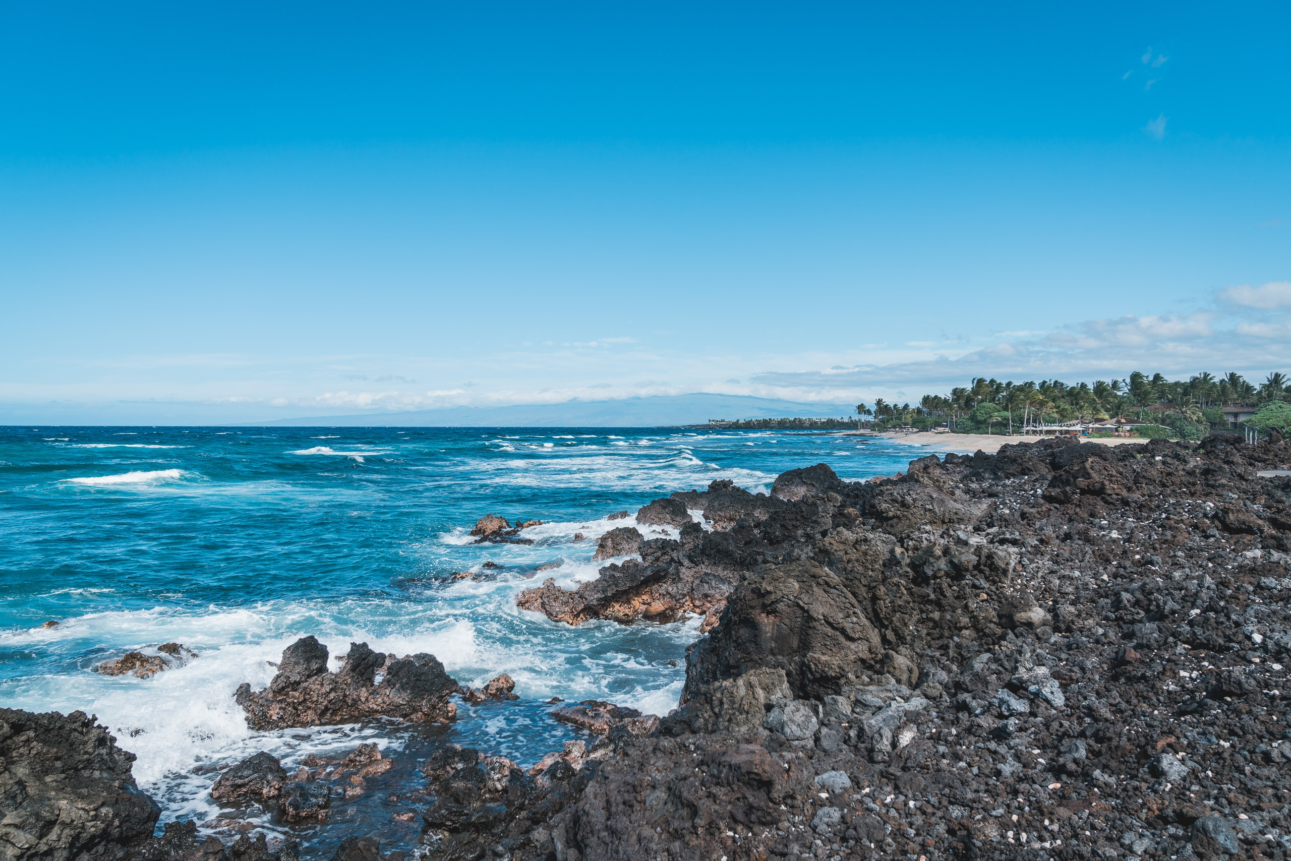 The Rocky Shore at the Four Seasons Hualalai