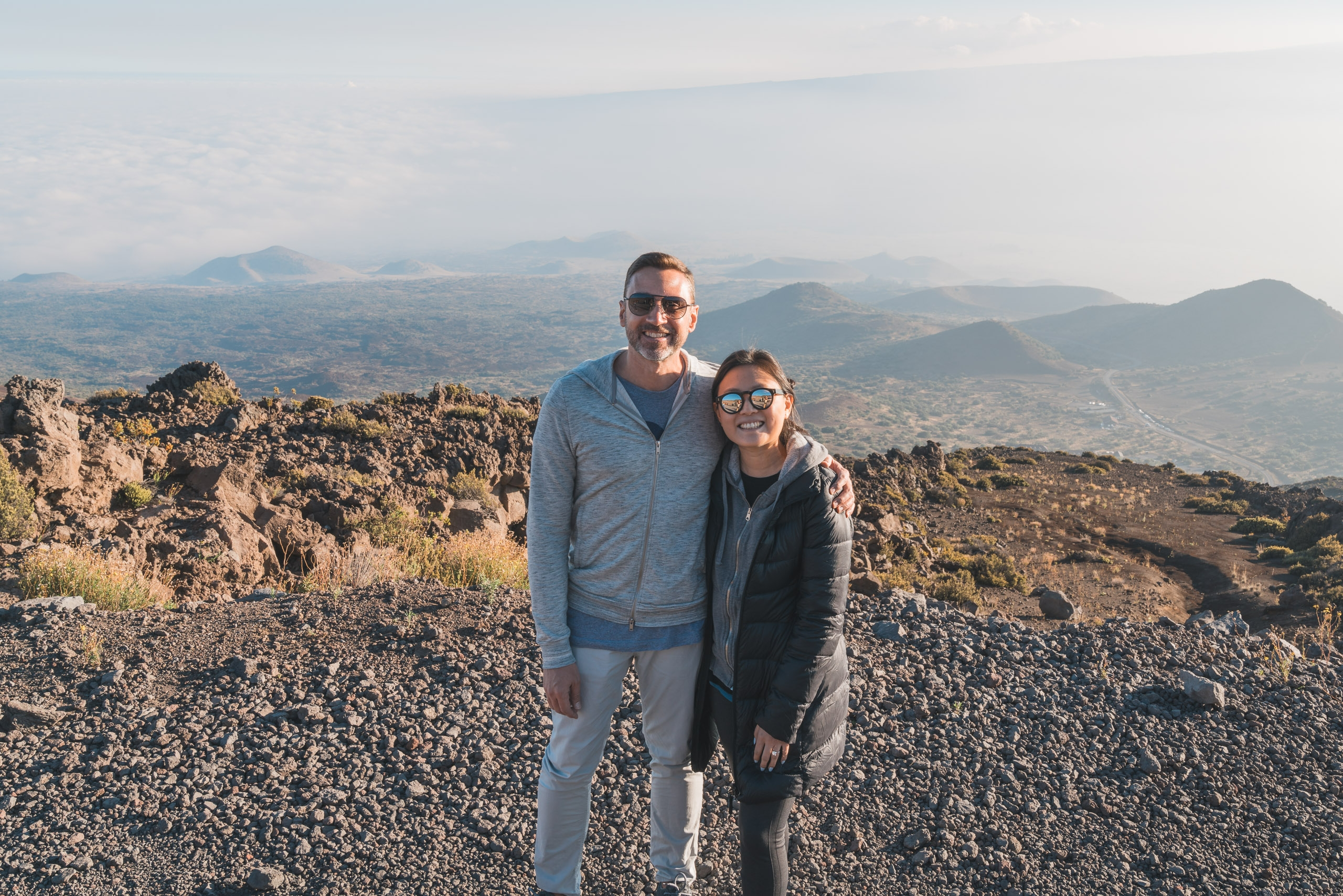 Near the Top of Mauna Kea