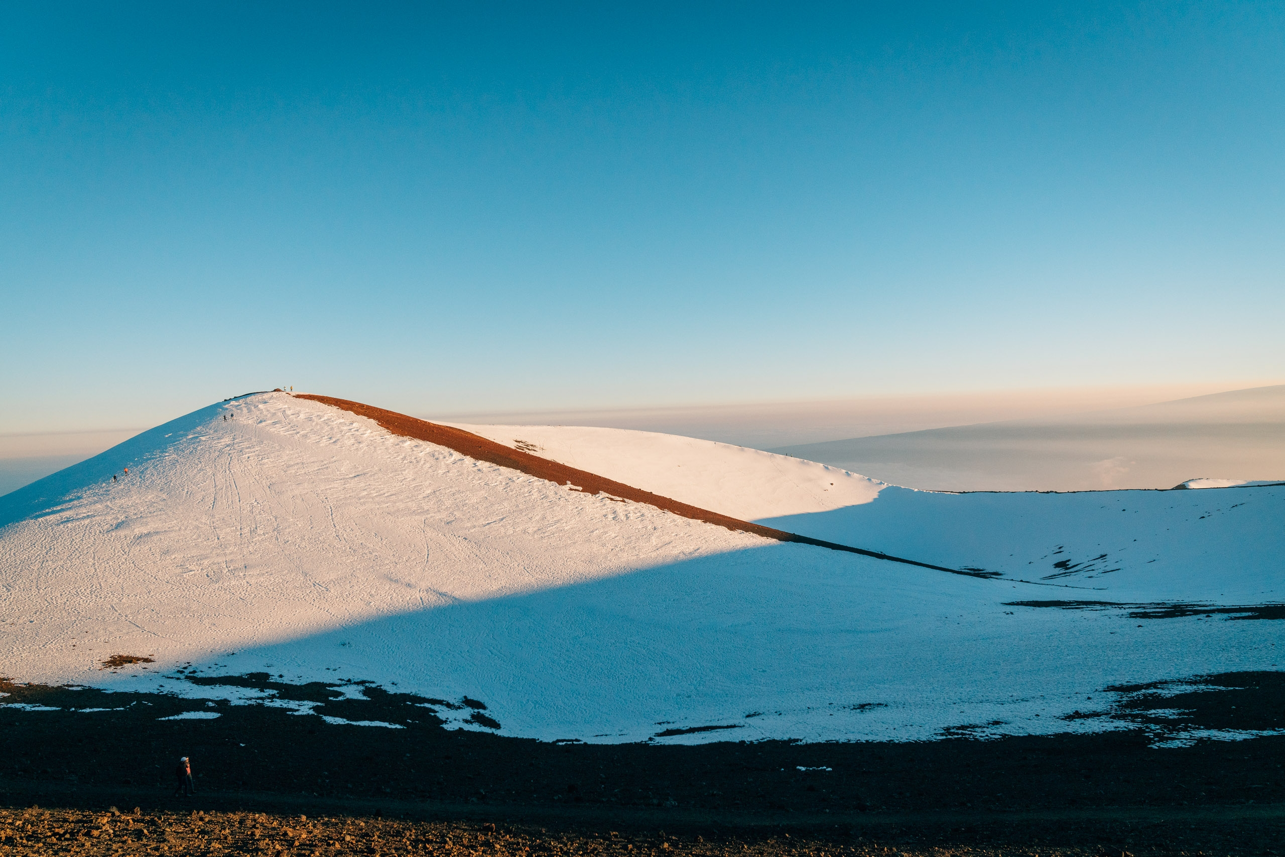 The Setting Sun atop Mauna Kea