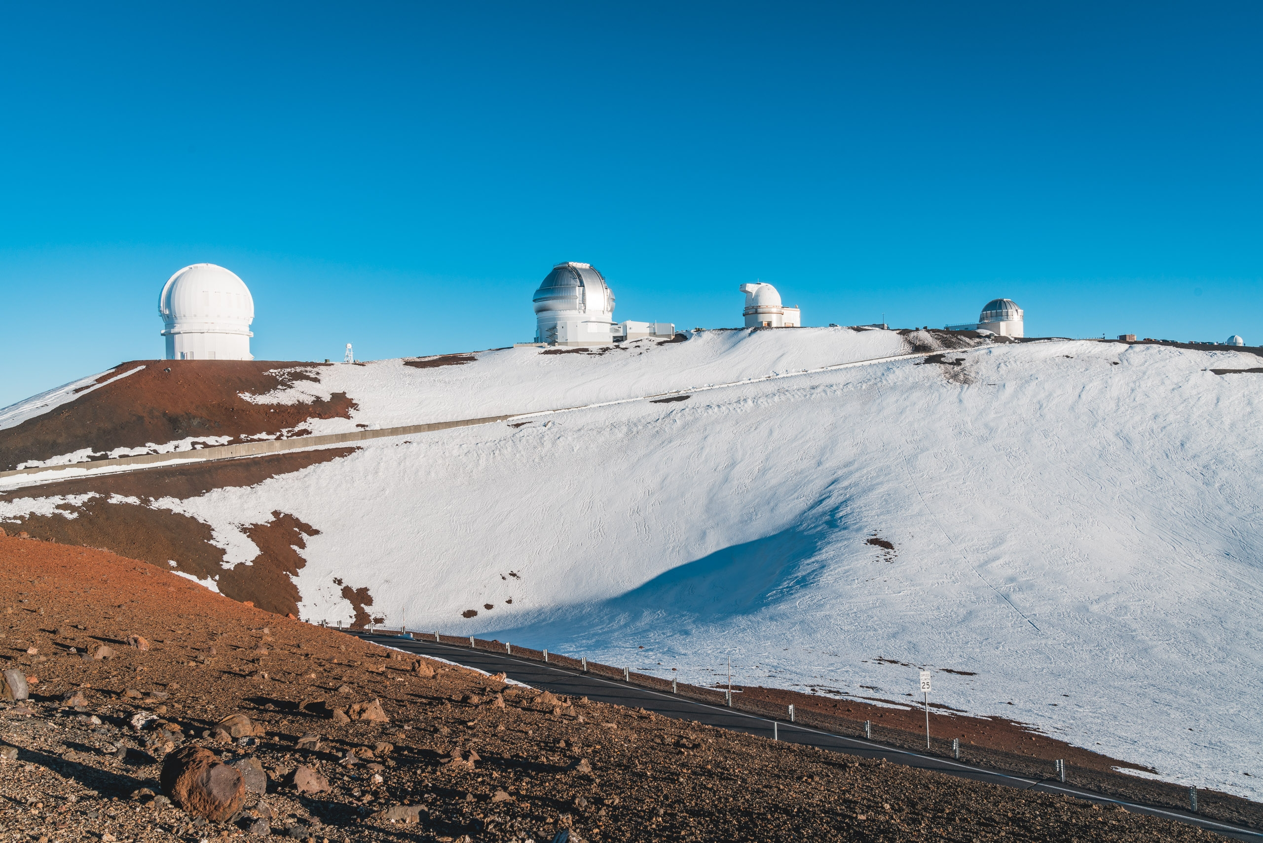The Telescopes atop Mauna Kea