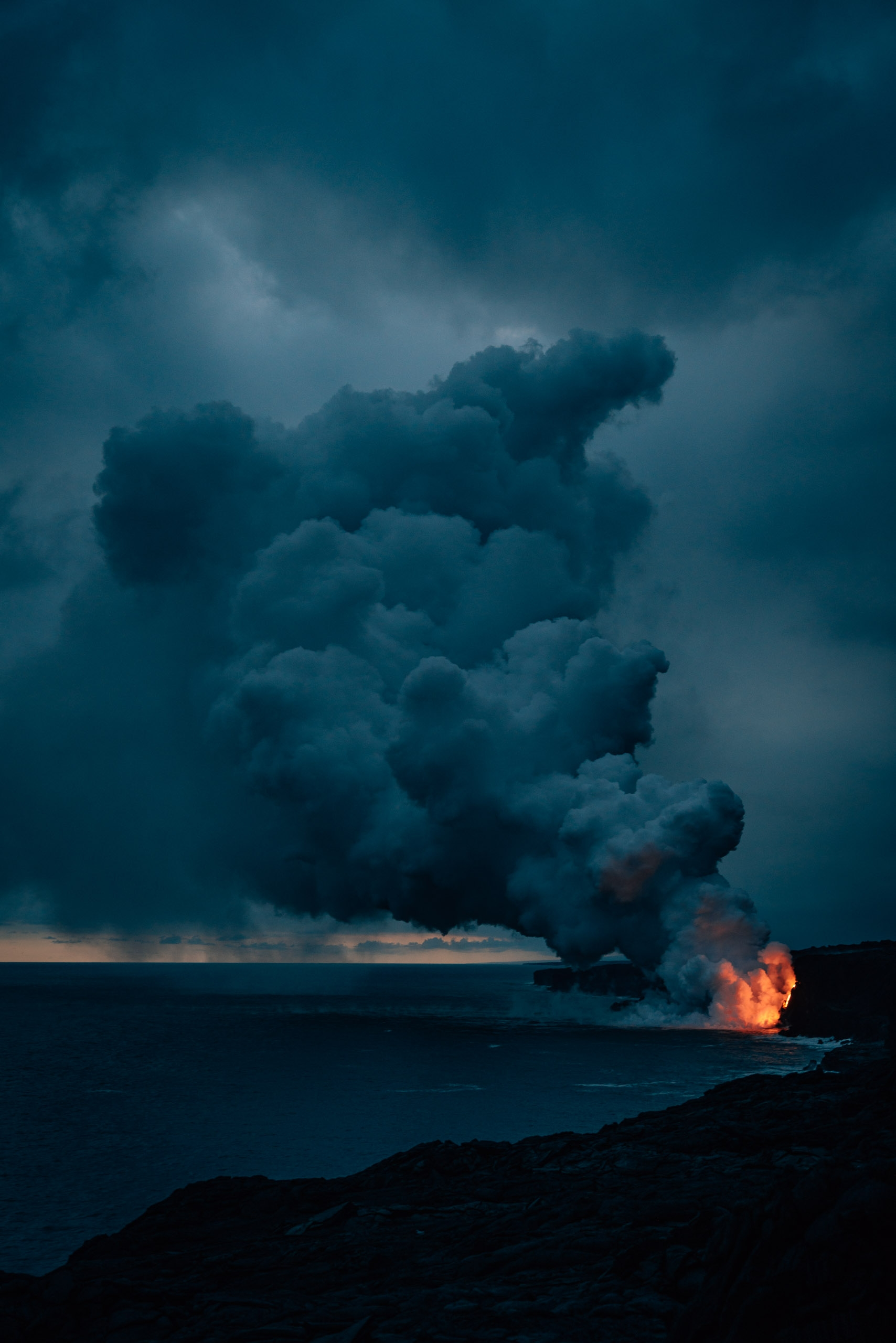 Lava Meets the Ocean 6