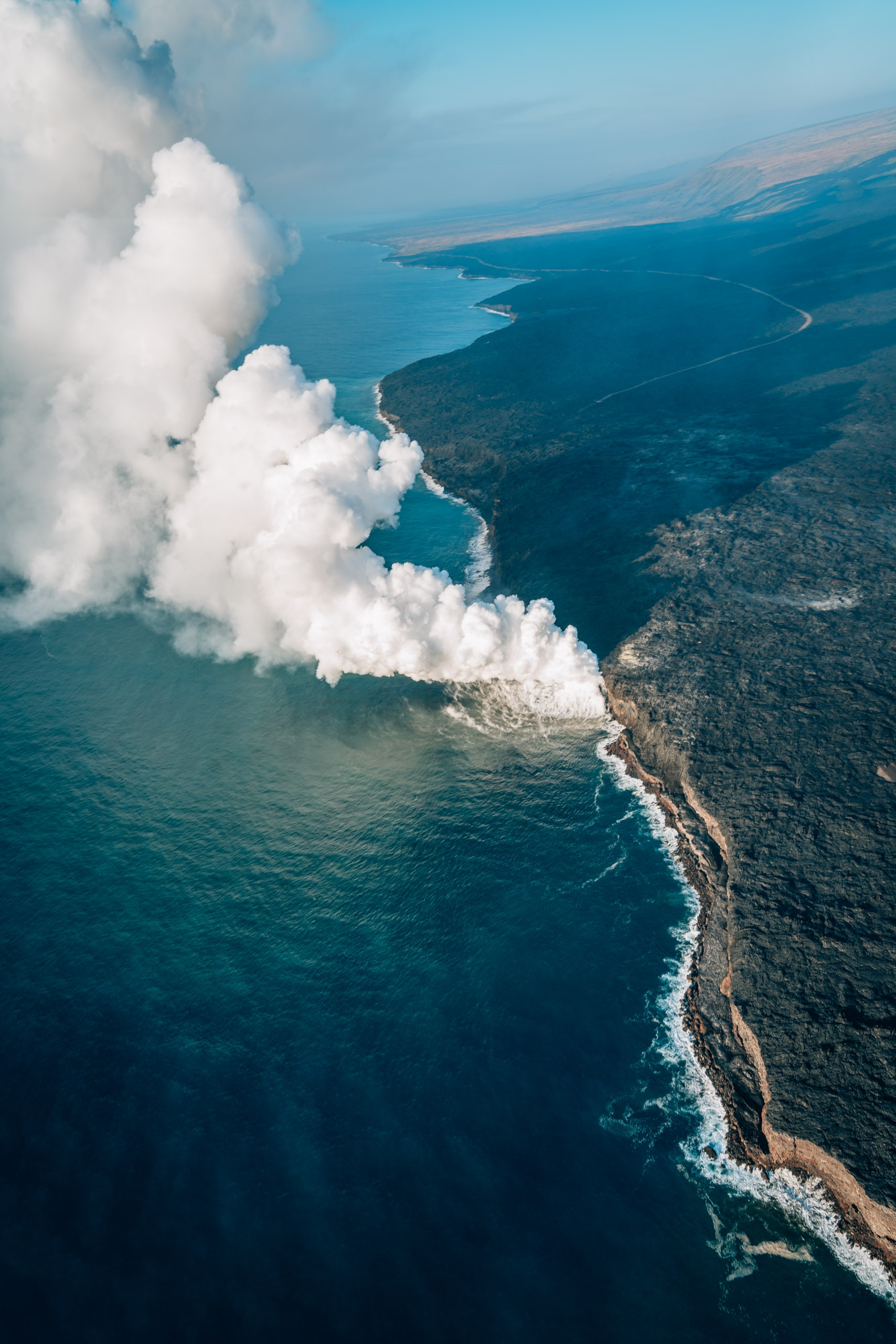 The Lava Entering the Sea 2