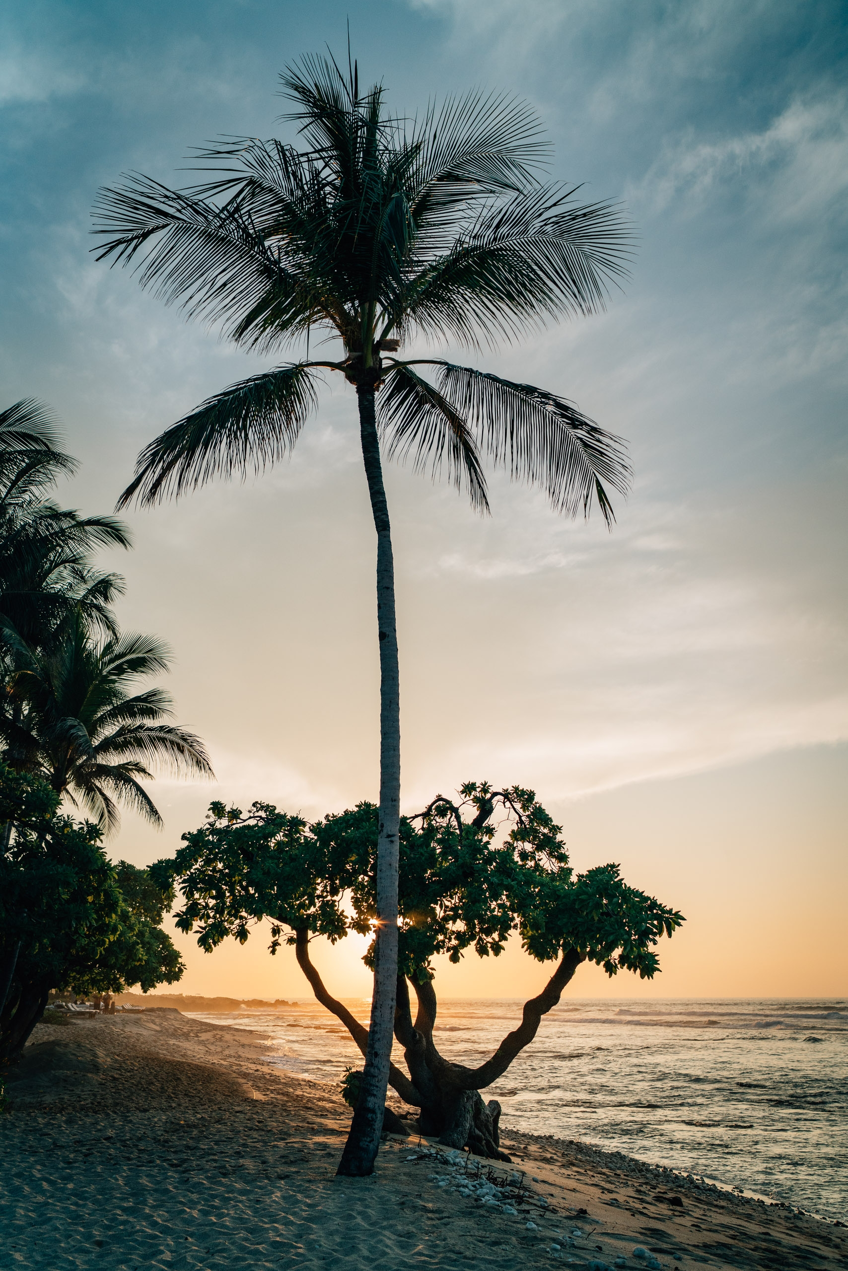 Sunset Near the Beach at the Four Seasons Hualalai 2