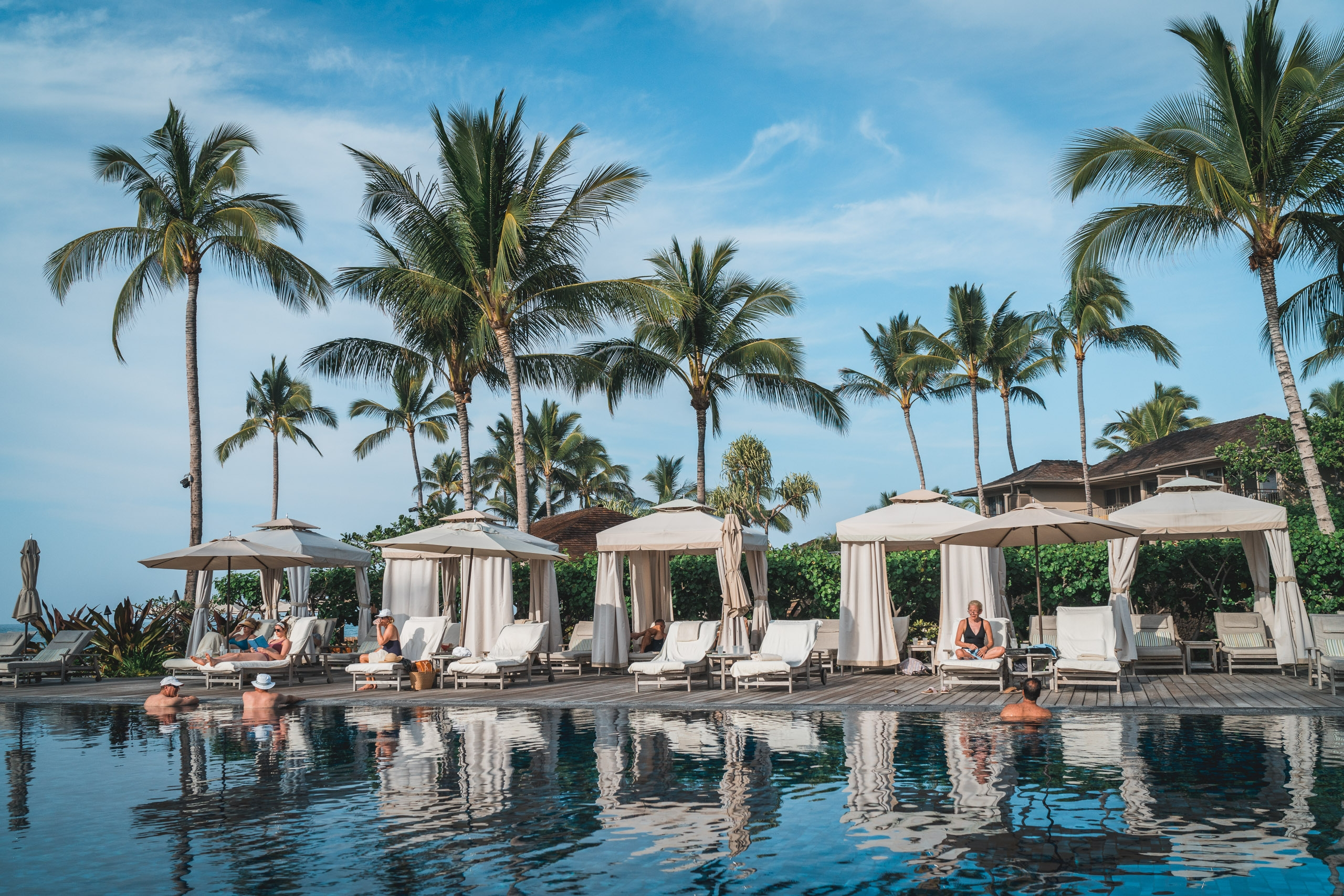 The Pool at the Four Seasons Hualalai 2