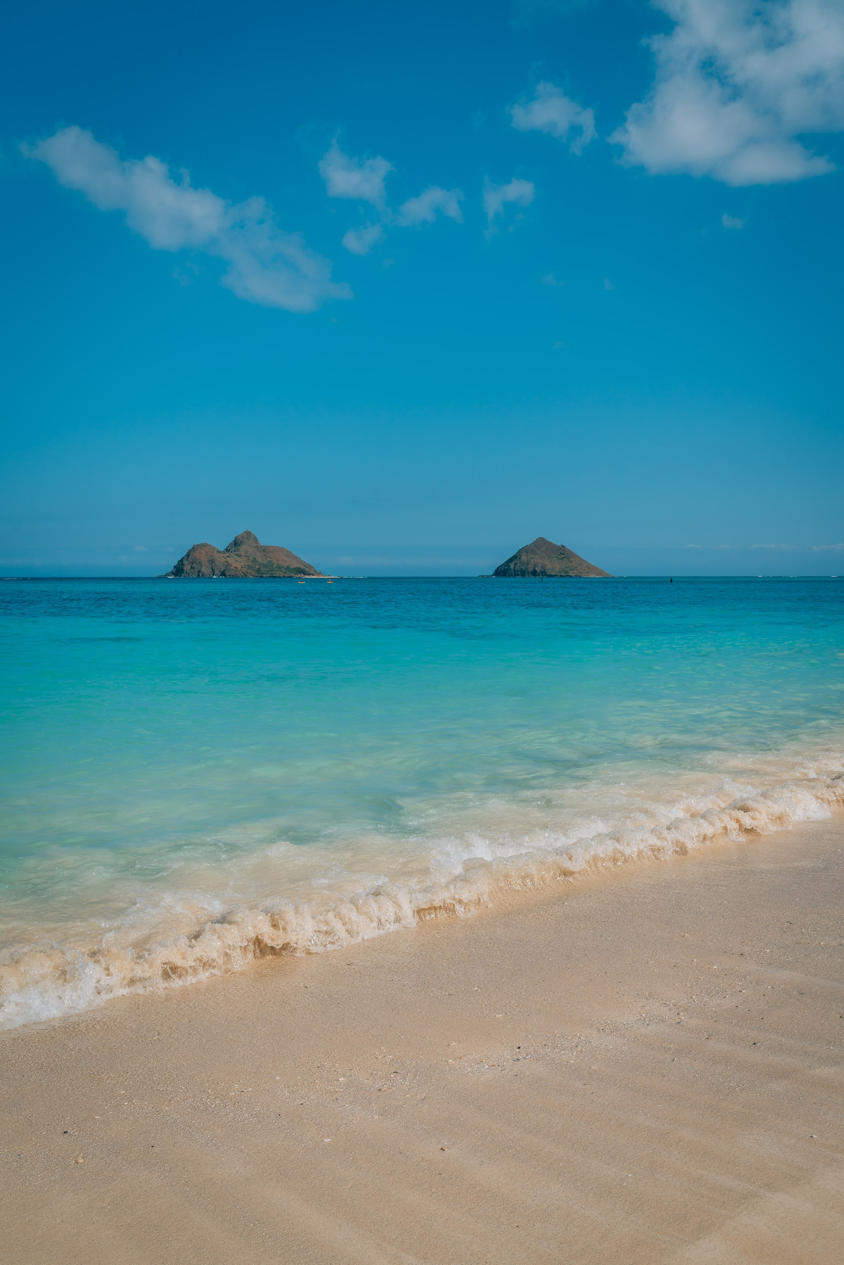 The Mokes at Lanikai Oahu 2