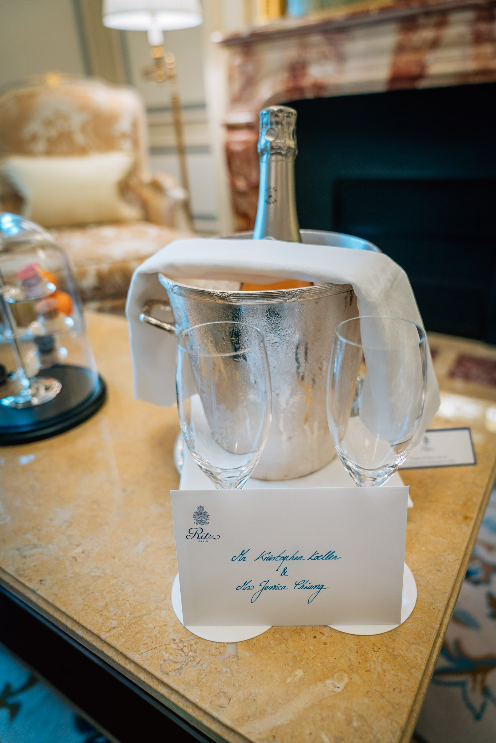 An Engagement Gift from the Ritz Paris
