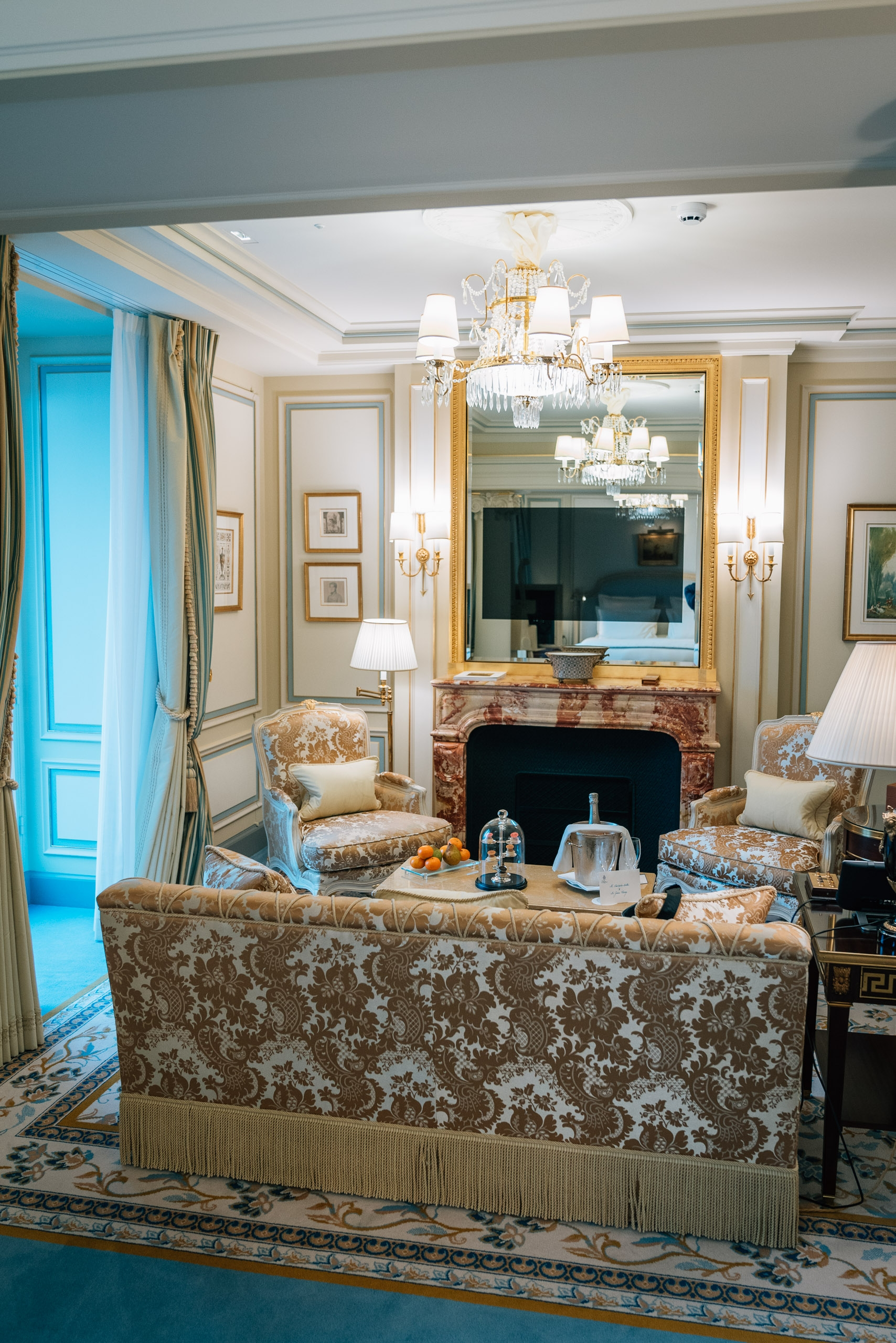 Our Room at the Ritz Paris