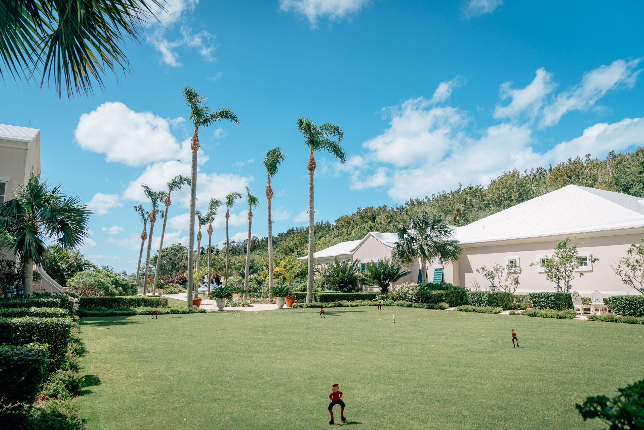 The Croquet Lawn at the Rosewood Bermuda