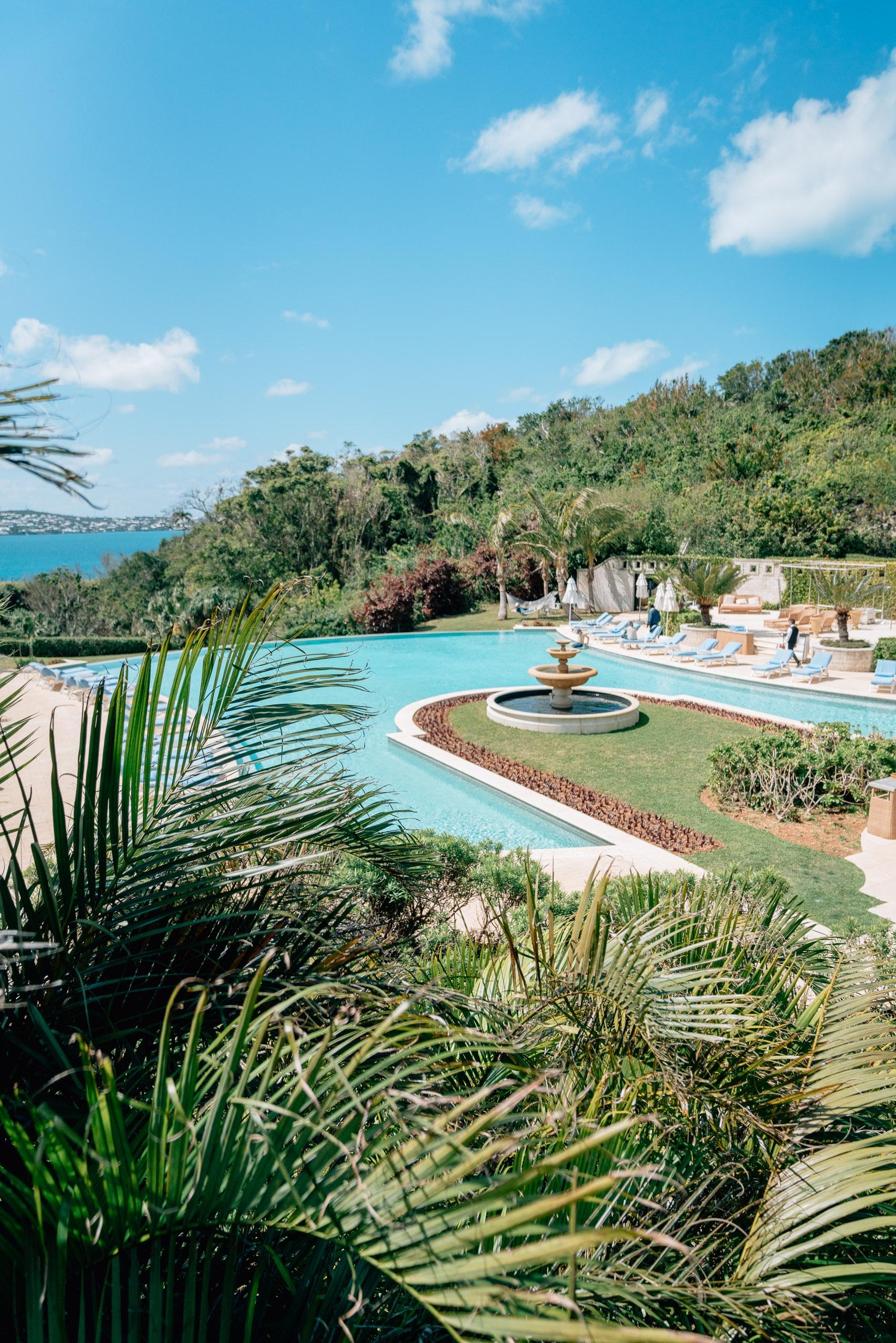 The Pool at the Rosewood Bermuda
