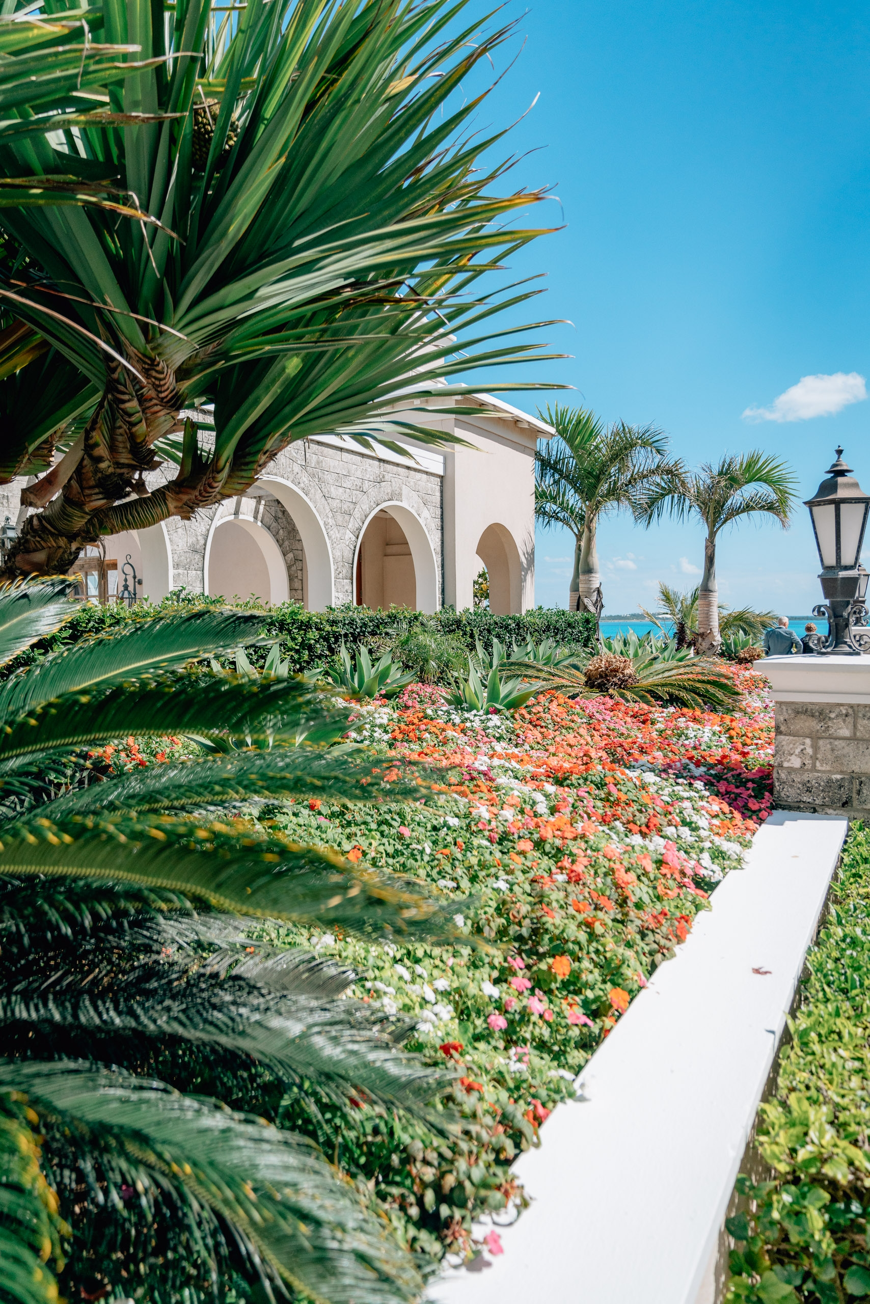 The Entrance to the Rosewood Bermuda