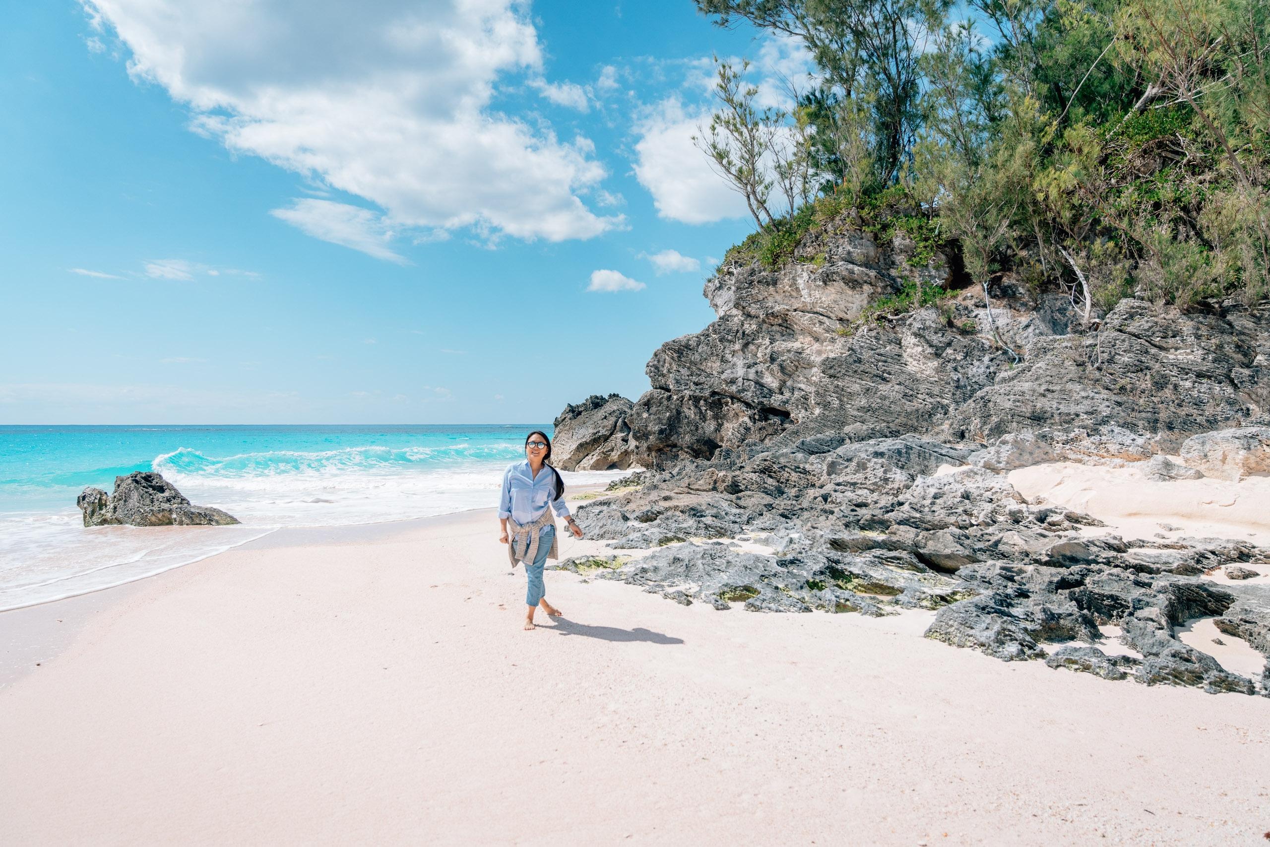 The Tucker's Beach Club at the Rosewood Bermuda