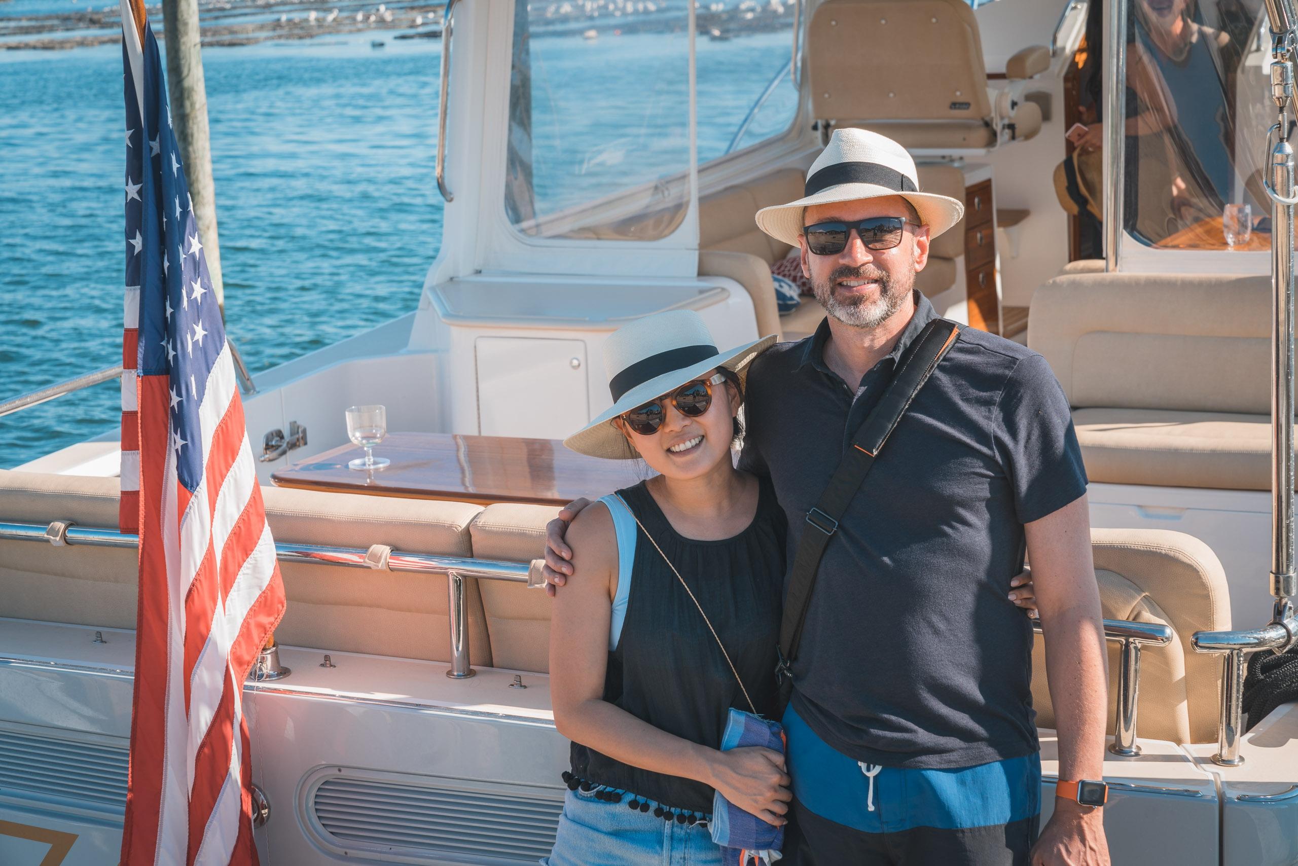 Jessica and Kris Arrive in Montauk
