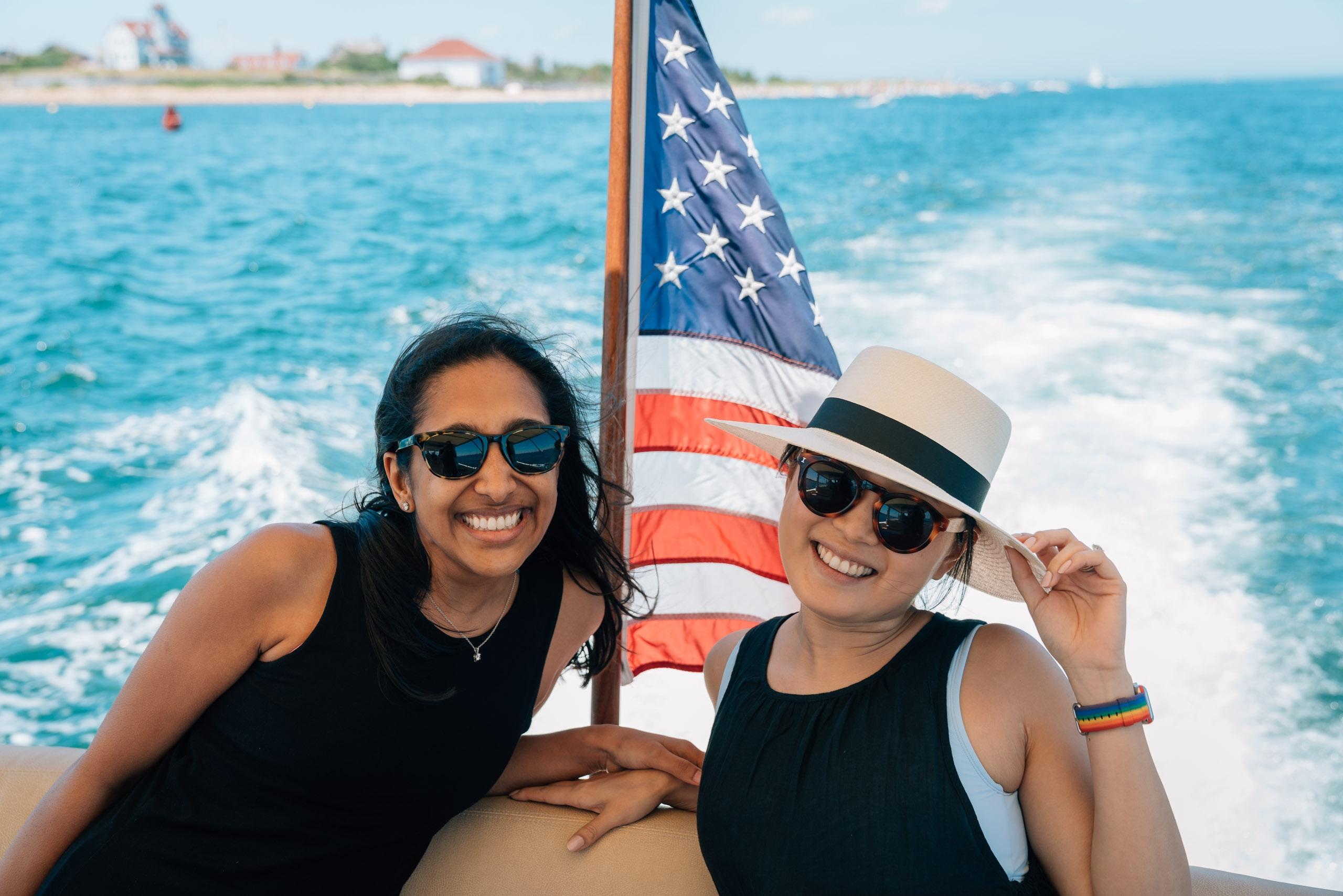 Ragini and Jessica on the Zoom
