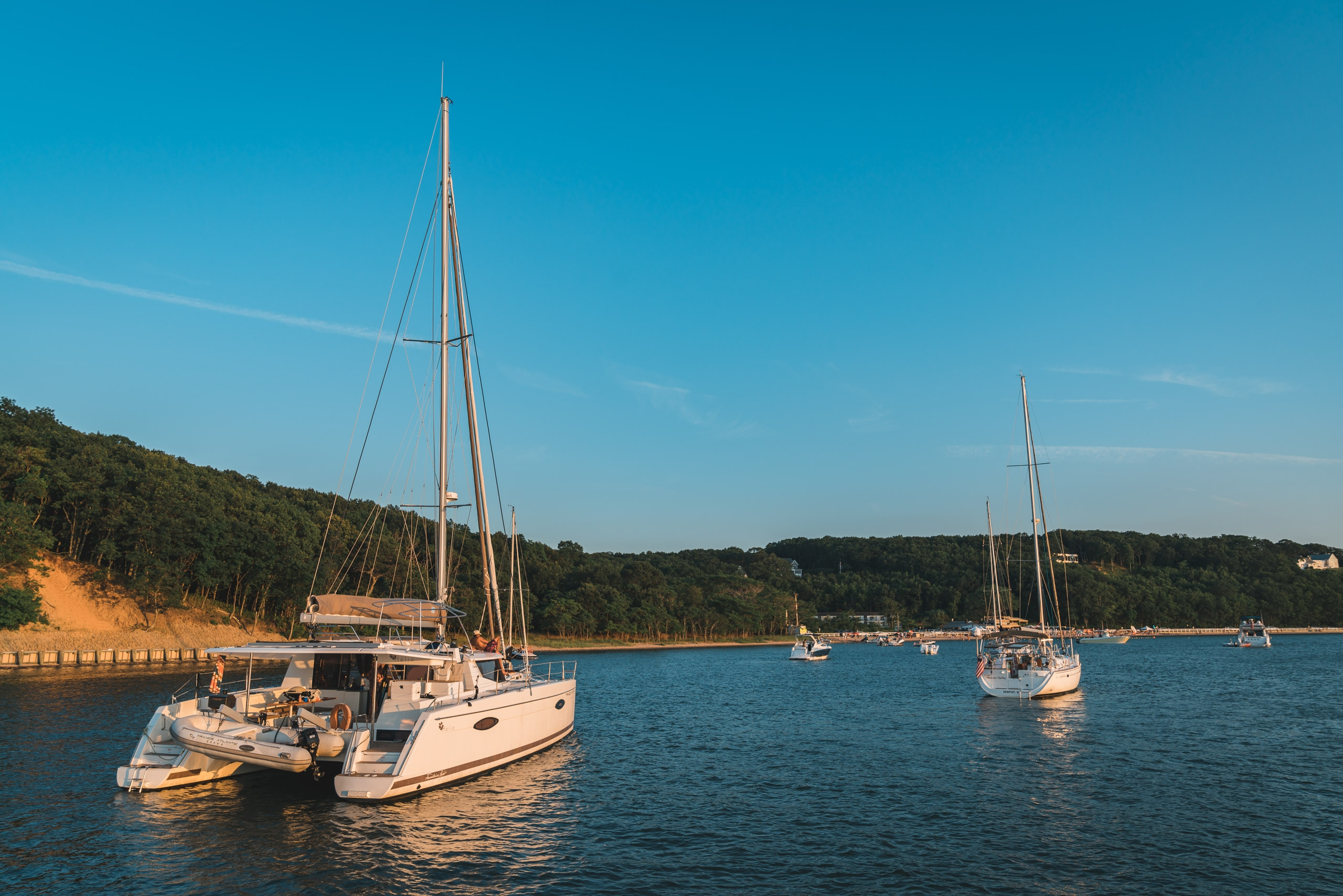 The Boats off Shelter Island