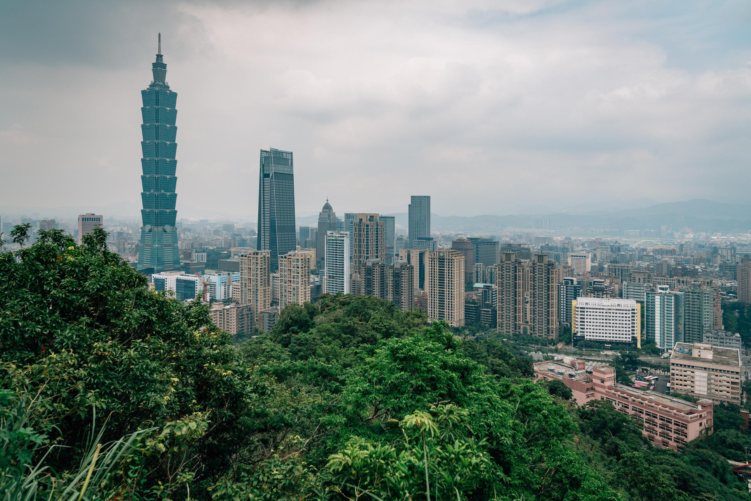 Overlooking Taipei 101