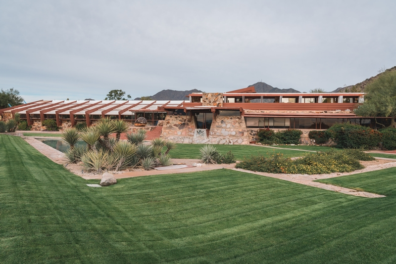 Frank Lloyd Wrights Home at Taliesen West 2