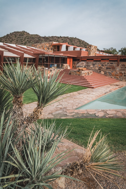 Frank Lloyd Wrights Home at Taliesen West