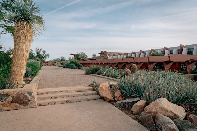 The Teaching Pavillion at Taliesen West
