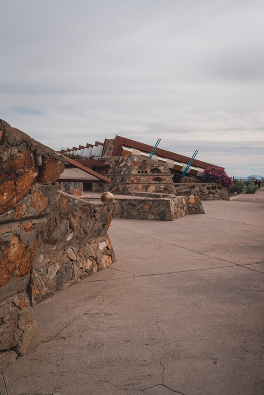 Walking into Taliesen West