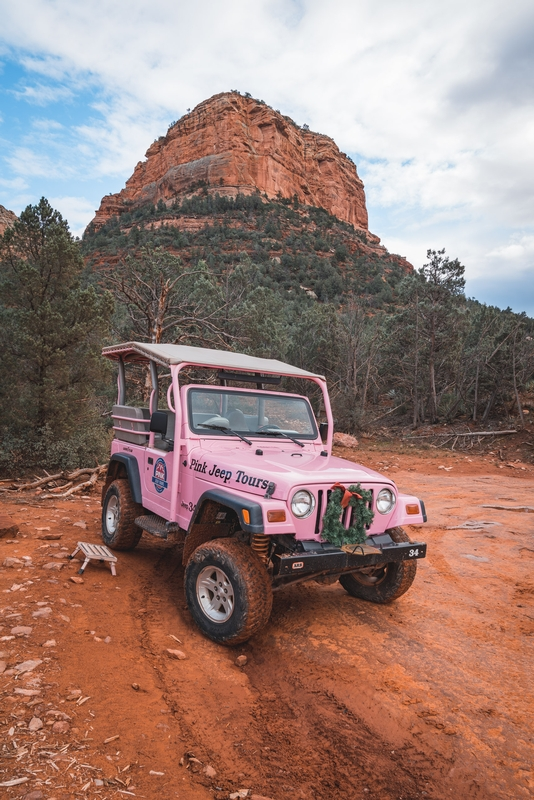 A Break on the Pink Jeep Tour 2