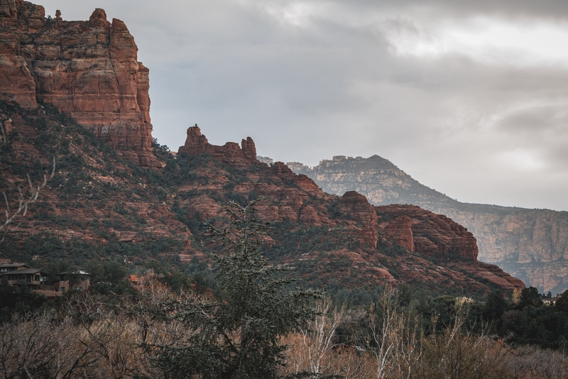 First Morning in Sedona