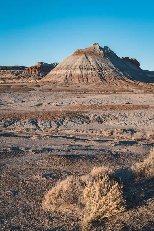 A Beautiful Day in the Painted Desert