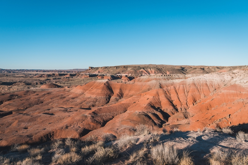 The Colorful Painted Desert