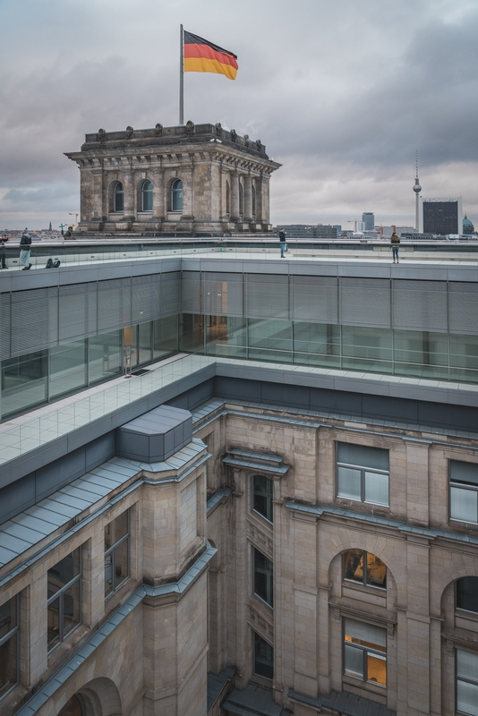 Atop the Reichstag - Part II