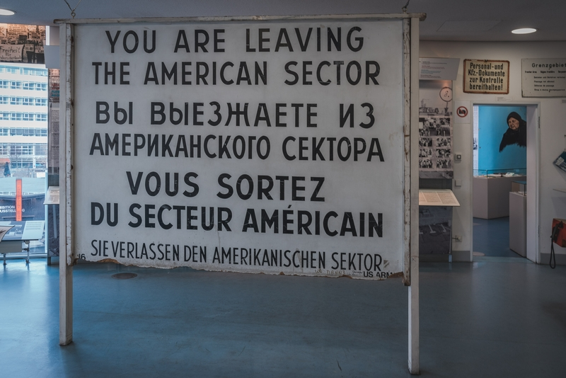Inside the Checkpoint Charlie Museum