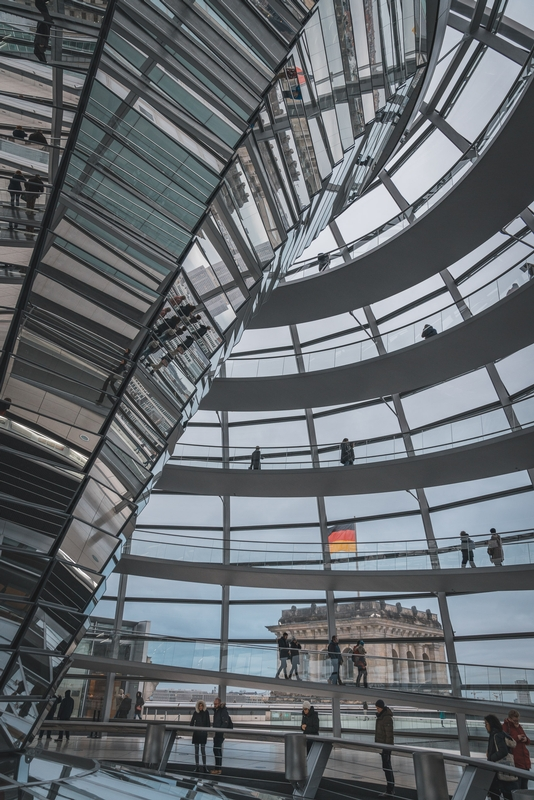 Inside the Reichstag Dome - Part II