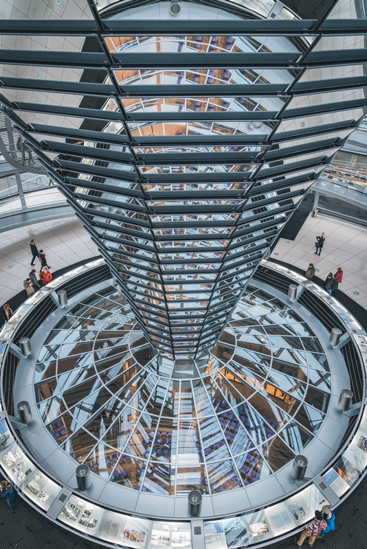 Inside the Reichstag Dome - Part III