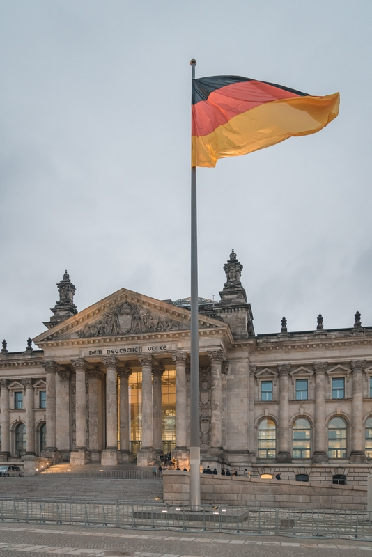 Outside the Reichstag - Part IV