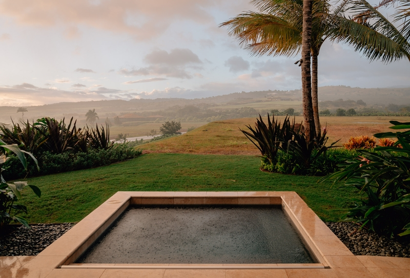 The Plunge Pool in the Rain