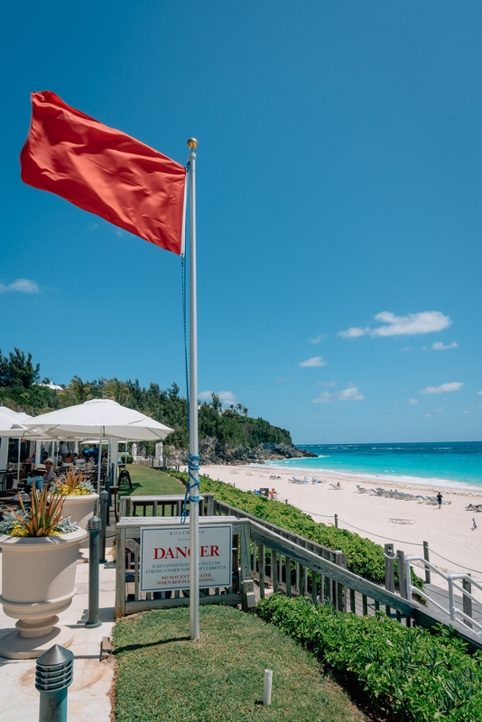 Red Flag Beach Day