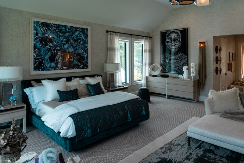 A Masterful Master Bedroom